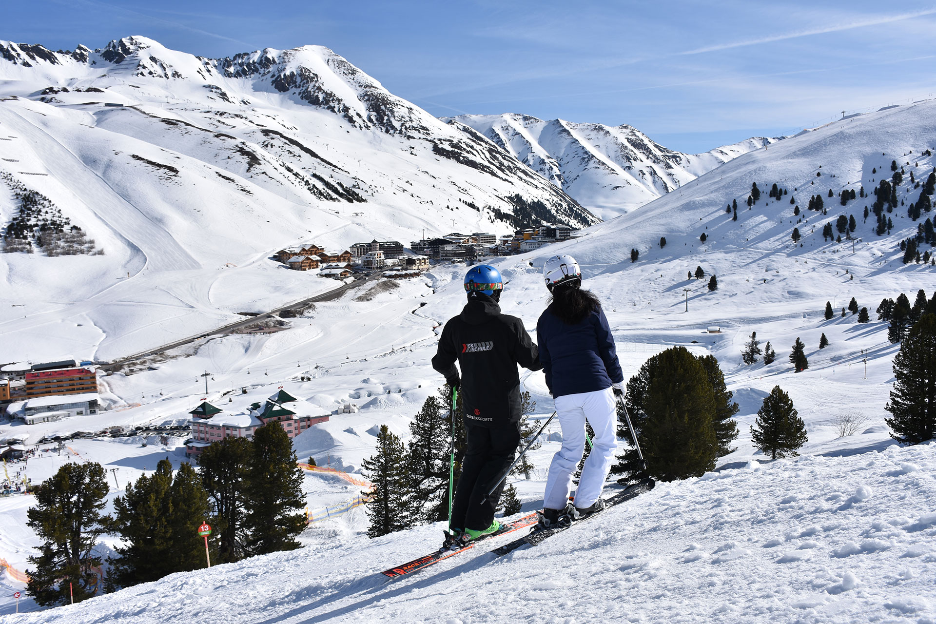 Ski school - Skiverleih Kühtai, Skischule Kühtai, Gerber Sport